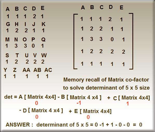 Fastest way of solving 4x4 matrix using casio calculator youtube.